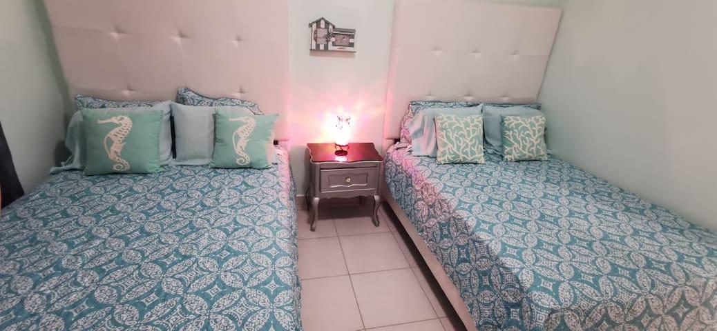 Guest Bedroom w 2 Beds