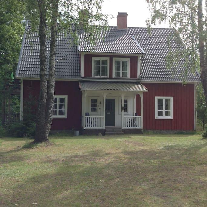 Huset fra front