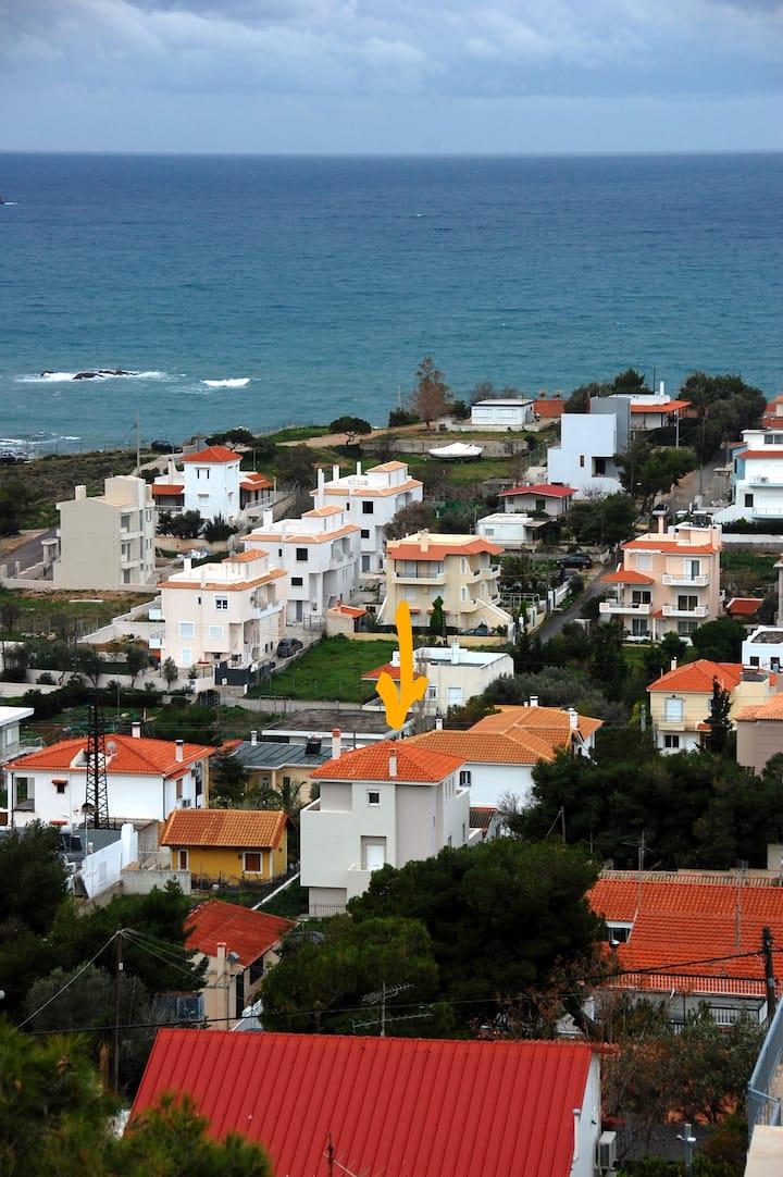 Villa B, by the sea