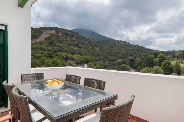 Alhaurín El Grande: sublime duplex, jac & piscine
