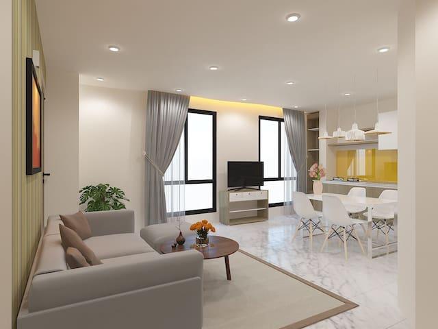 Le Conte Danang Family room 301 - Da Nang - Apartment