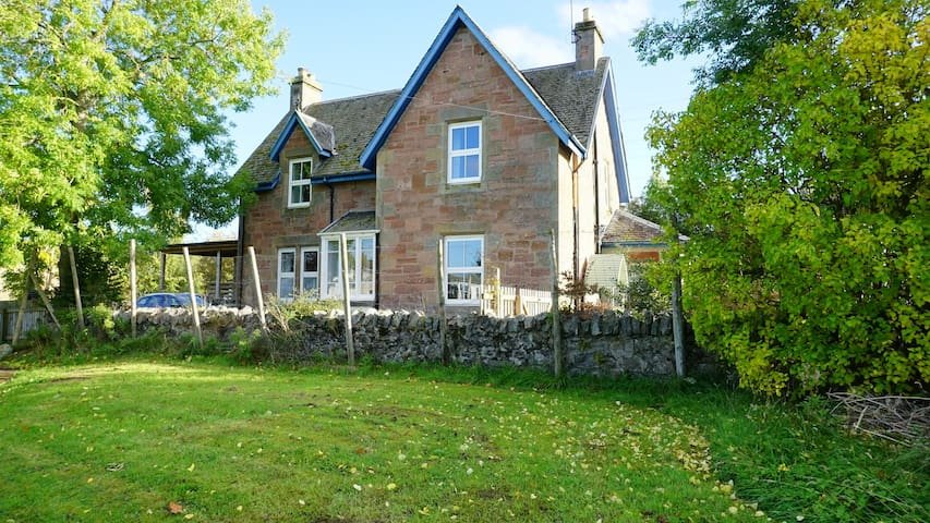 Charming Highland school house close to Inverness.