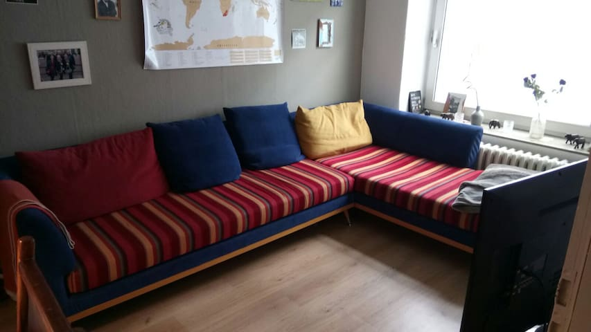 Schöne 2-Zimmer Wohnung in top Lage - Kiel - Leilighet