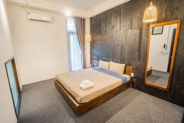 Double Room⭐️Balcony⭐️City View⭐️HanRiver⭐️Central