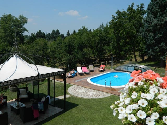 Luxury Country Property Monferrato Villa Carlotta - Viarigi - 別荘
