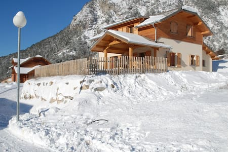 Chalet mountain atmosphere + Garage - Barcelonnette