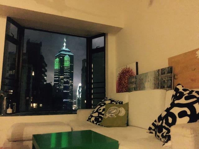 cozy master room in midlevel, girl only - Hong Kong - Leilighet