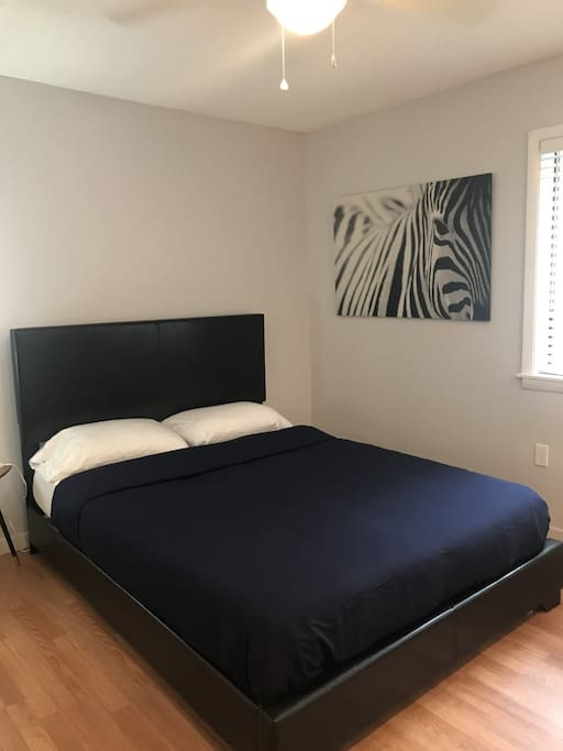 Comfortable foam mattress.