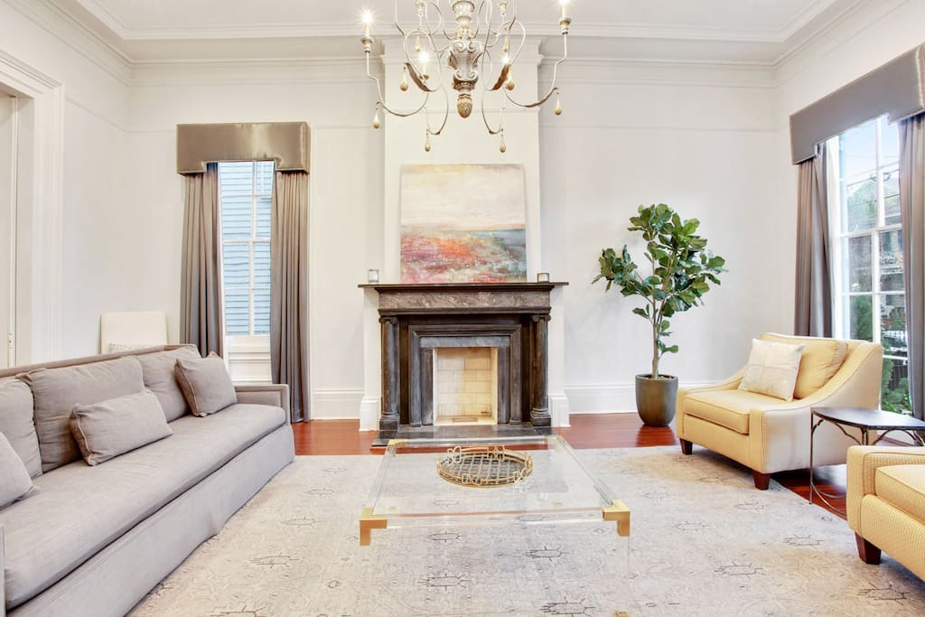 Marvelous 5 Bedroom Garden District Estate Houses For Rent In New Orleans Louisiana United