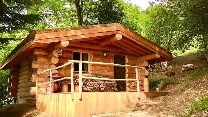 Cabane en rondins Les 13 Arbres