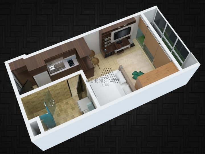 Tamansari Hive Apartment - Premium Studio