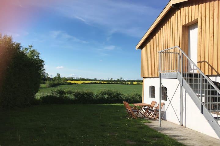 """Ferienwohnung """"Pferdestall"""" auf Hof Lilleby"""