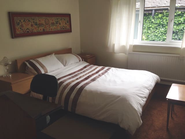 Lovely double room in quiet house