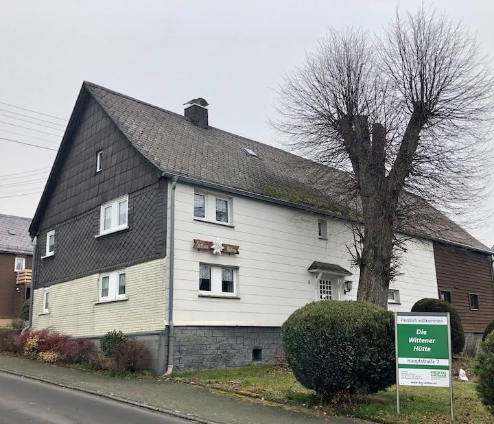 FEWO in Langenbach in der Alpenvereinshütte