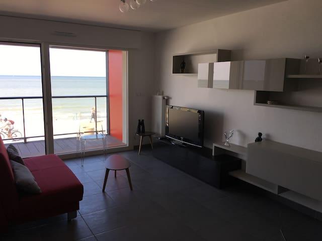 appartement vue sur mer avec terrasse - Dunkerque - Wohnung