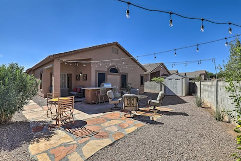 NEW! Central Sahuarita Abode w/ Quiet Outdoor Area