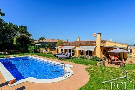 Sc21 Casa con piscina privada en Pals - Els Masos de Pals - Дом