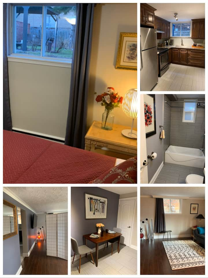 Newly renovated beautiful whole unit in Toronto