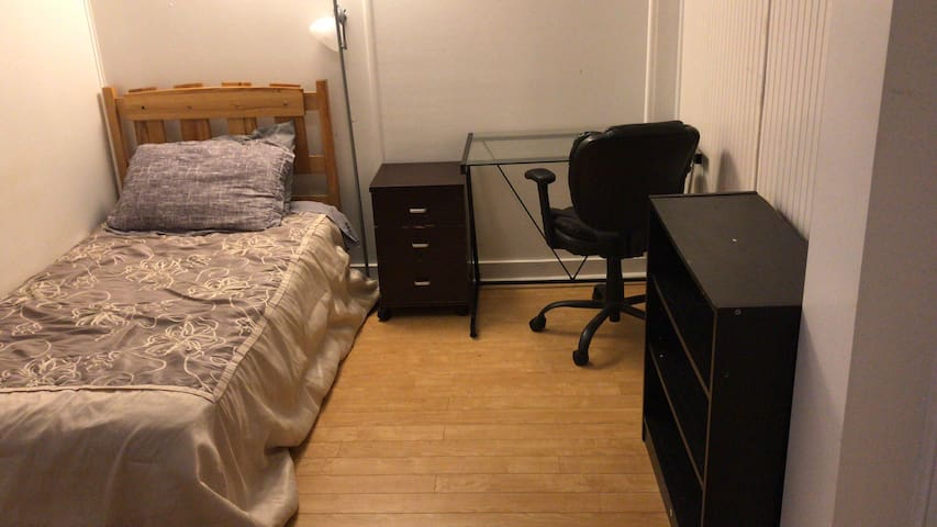 Private Downstairs bedroom in downtown halifax