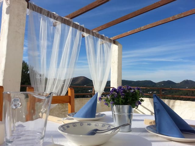 2 apartments next to each other. seaview, terrace - Cala Llonga - Byt