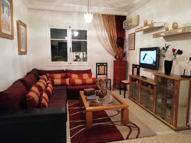 Chaleureux appartement à El Menzah7