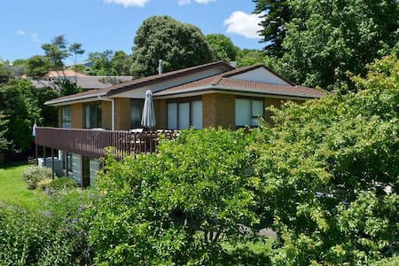 Double and single rooms with beautiful views - Papakura - Haus