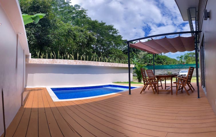 Private Pool/Brand new villa nearWhale'sTail Beach