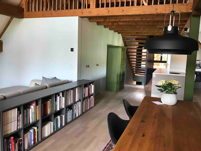 Loft65: your own apartment nearby Zug Zürich 140m²