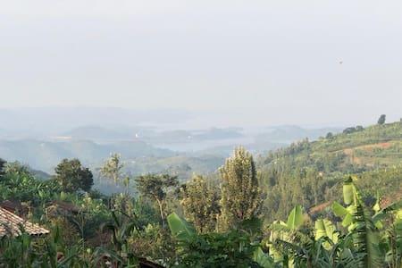 """Maison d'hôtes : """"vivre à la rwandaise""""."""