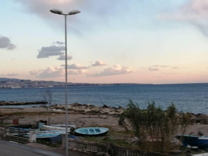 Appartamento vista diretta sul mare