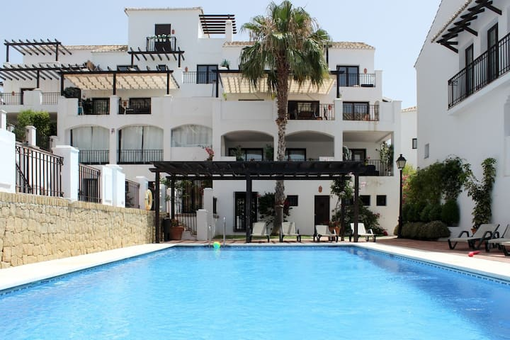 2 bed garden apartment, Pueblo Los Monteros