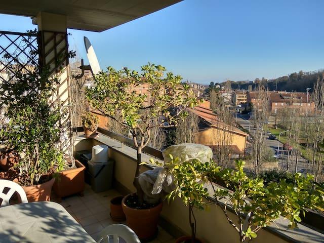 Attico panoramico sulla Via Francigena - Capranica - Huoneisto