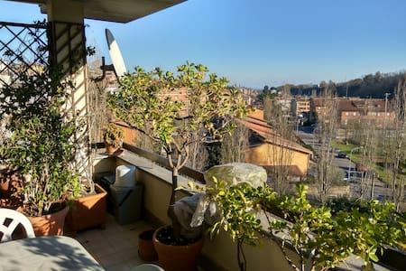Attico panoramico sulla Via Francigena - Capranica - Apartment