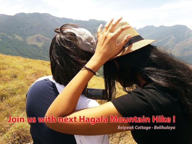 Guests at Hagala Mountain hike