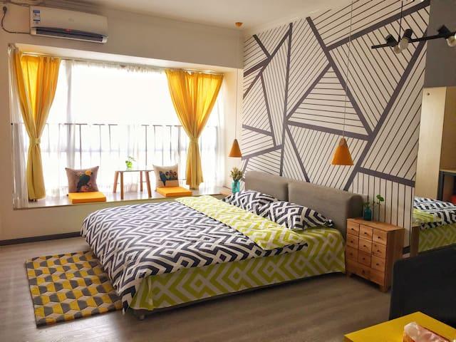 Homeroom北欧风格清新智能公寓 - 贵阳 - Appartement
