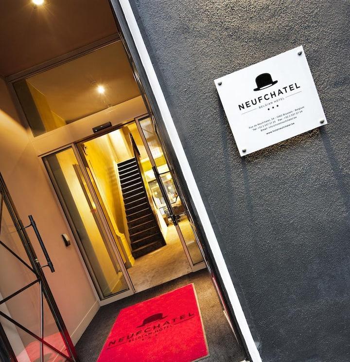 Chambre Double - Hôtel Le Neufchâtel