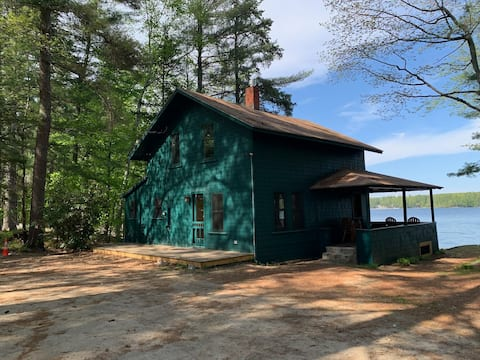 Updated Cabin Little Sebago Lake