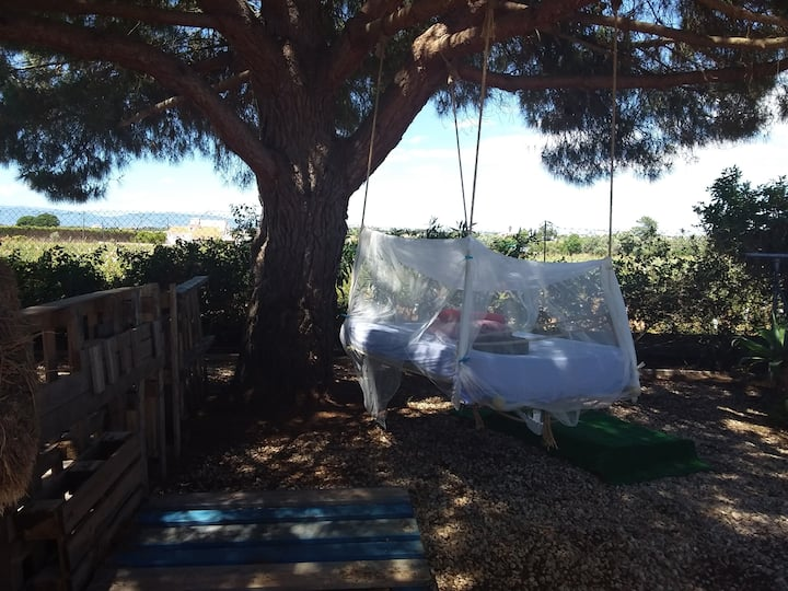 NEW: HANGING TREE BED for 1  Algarve Carvoeiro