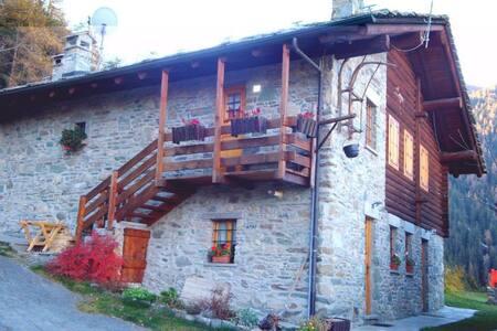 Monolocale di montagna - Lejlighed