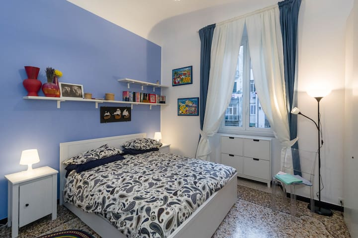 Big double room in the town center - Savona - Apartamento