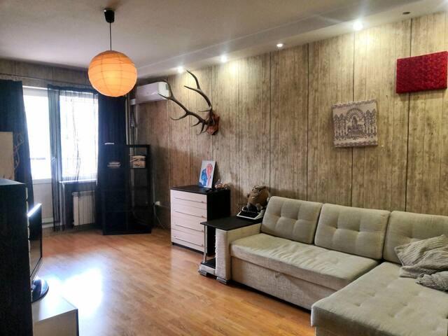 Дизайнерская и уютная 2-шка рядом с ЖД ВОКЗАЛОМ