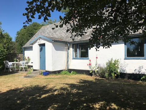 Cosy summerhouse with big garden