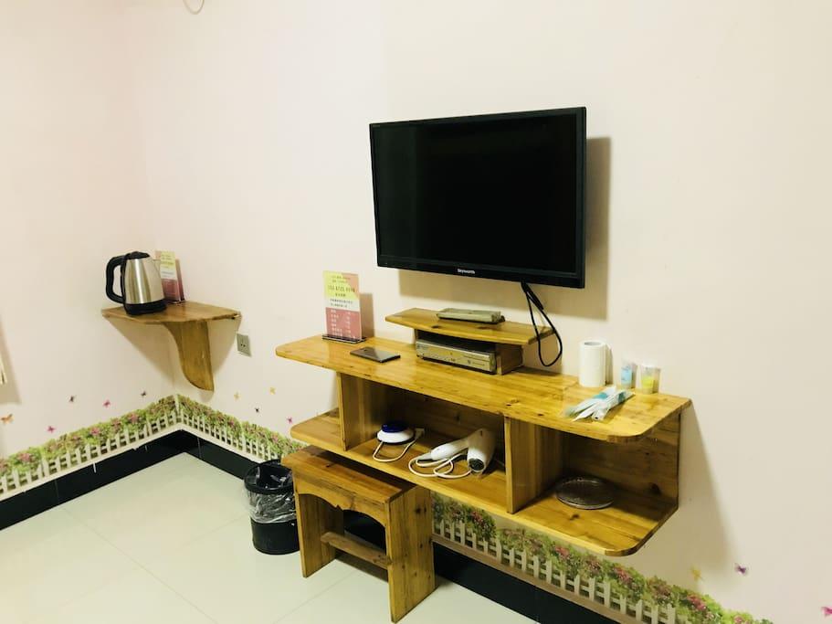 网络电视及电热水壶
