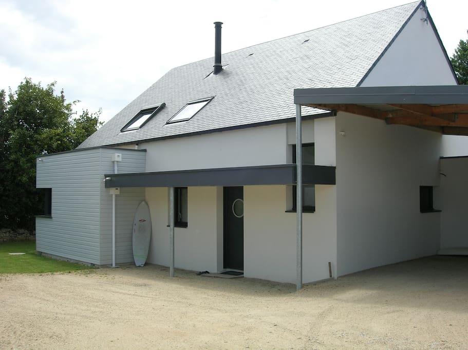 Belle maison d 39 architecte plouharnel 8 personnes - Belle maison traditionnelle symmetry architecte ...