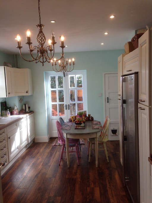 Kitchen/Diner - includes a dishwasher, washing machine and tumble dryer.