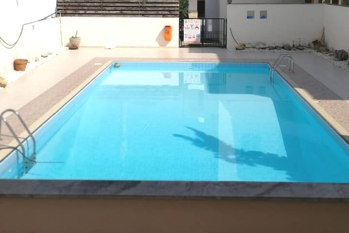 Great location, spacious, open plan with pool.