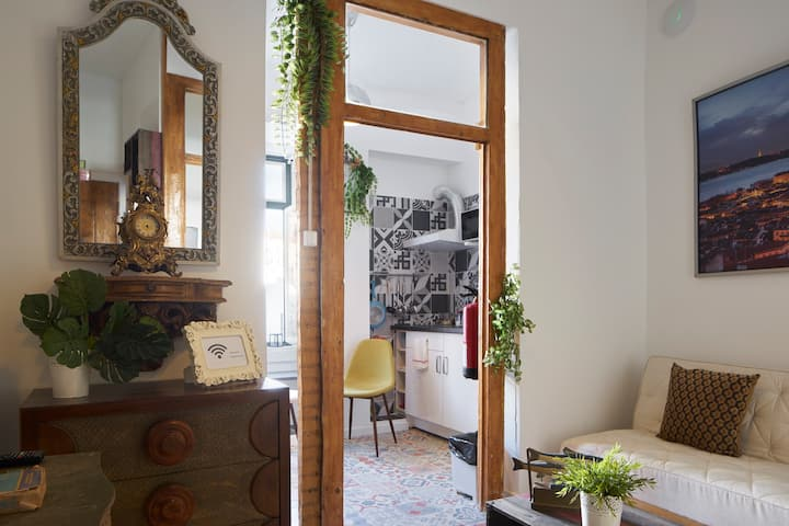 Lovely Alfama Patio Apartment in Old Town
