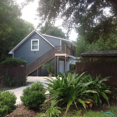 Private detached garage apartment - Fernandina Beach - Byt