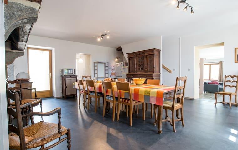 Chambre privée dans maison proche Vulcania - Charensat - House