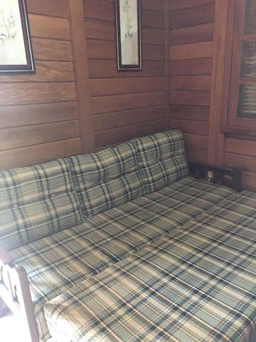 Sofá cama na Sala